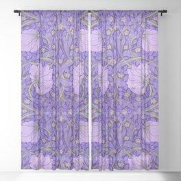 """William Morris """"Pimpernel"""" 2. Sheer Curtain"""