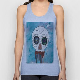 Bloody Mouth Unisex Tank Top