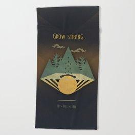 Grow Strong Beach Towel
