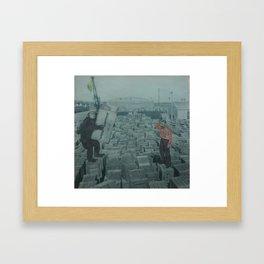 Problem Solving Framed Art Print