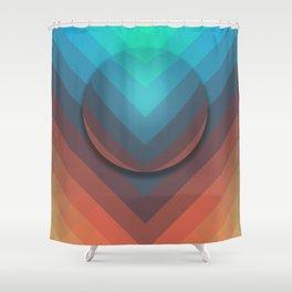 Surface To Swim Shower Curtain