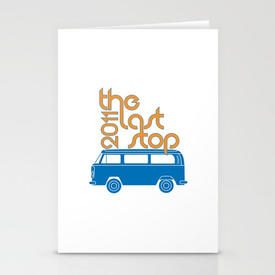 The Last Stop 2011 Stationery Cards