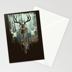 The forest spirits Stationery Cards