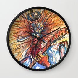 King of rock Wall Clock