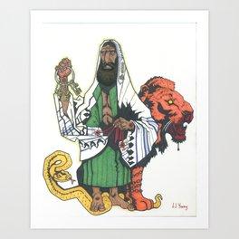 Keyz to Shamayim Art Print