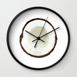 White coconut Wall Clock