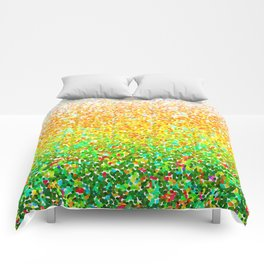 Color Dots Background G73 Comforters