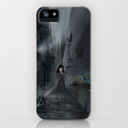 Ghastly alley iPhone Case
