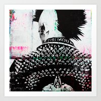 punk Art Prints featuring PUNK by Taylor Callery Illustration