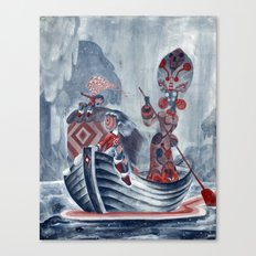 The River Styx Canvas Print
