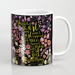She looked like art... Eleanor & Park. Coffee Mug