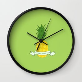 I've heard it both ways Wall Clock
