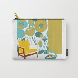 The yellow chair Carry-All Pouch
