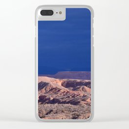 Desert Storm's Abrew'n Clear iPhone Case