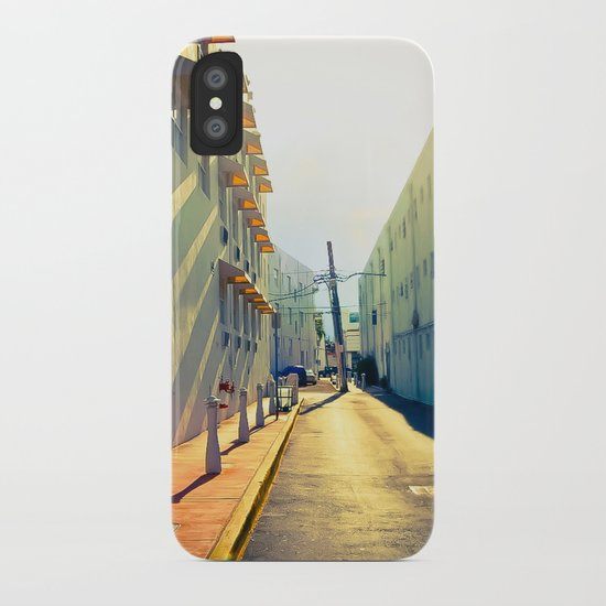 South Beach Sunrise iPhone Case