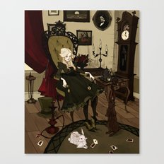 Clever Little Alice Canvas Print