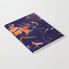 Abstract paint Art Notebook