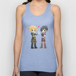 Dragon Age - Anders and Hawke Unisex Tank Top