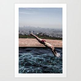 Dive into L.A. Kunstdrucke