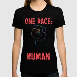 One Race: Human T-shirt