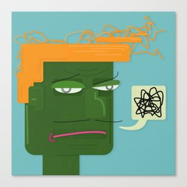 Unsatisfied Customer One Canvas Print