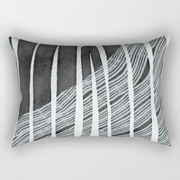 Crossing arch in the night, dark tones artwork Rectangular Pillow
