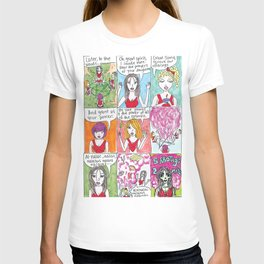Cheerleader Witches T-shirt
