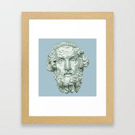 Homer Framed Art Print