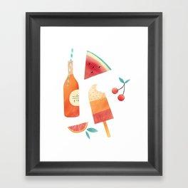 Summatime Framed Art Print