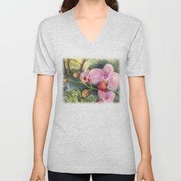 Orchid Beauty Unisex V-Neck