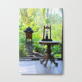Won't You Join Me- vertical Metal Print