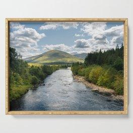 Schotland river Serving Tray