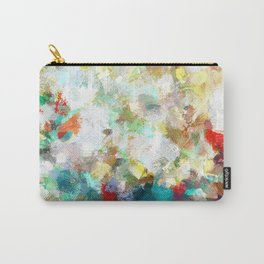 Spring Abstract Painting Carry-All Pouch