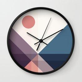 Geometric 1706 Wall Clock