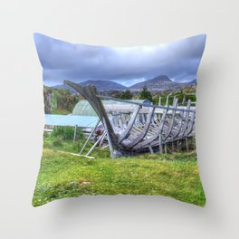 Flodabay, Isle of Harris Throw Pillow