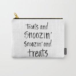 Treats and Snoozin' Carry-All Pouch