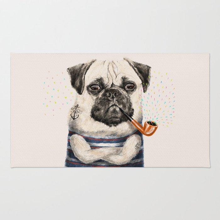 Mr.Pug Rug