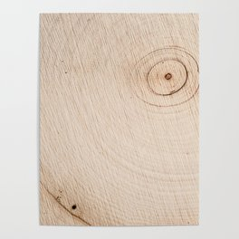 Real Wood Texture / Print Poster