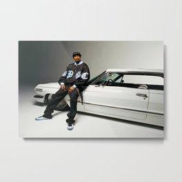 Snoop Dogg, Los Angeles, west coast rapper style Metal Print