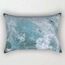 Full Wolf Moon Rectangular Pillow
