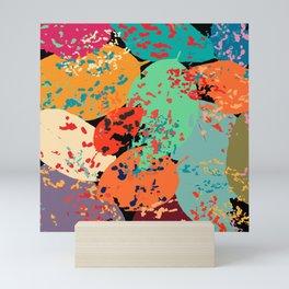 Sprinkled Leaves Mini Art Print