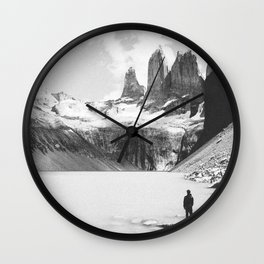 TORRES DEL PAINE / Chile Wall Clock