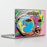 rottweiler Laptop & iPad Skins featuring Lady Rottweiler by EloiseArt