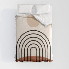 Abstraction_SUN_LINE_BOHEMIAN_LANDSCAPE_POP_ART_1129B Comforters