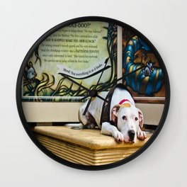 Don't Judge A Book By Its Cover Wall Clock
