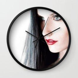 Portrait of Ariel Wall Clock