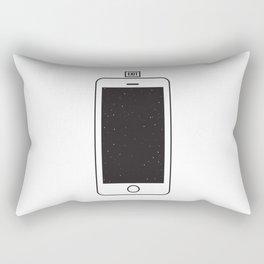 NOTHING #1 - Always Somewhere Else Rectangular Pillow