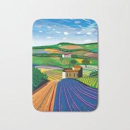 Lavender Farm Bath Mat