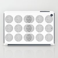 circles iPad Cases featuring Circles by Catrin Eluned