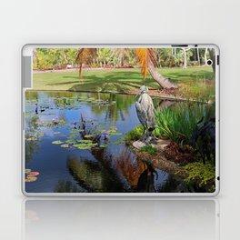 At the Pond Laptop & iPad Skin